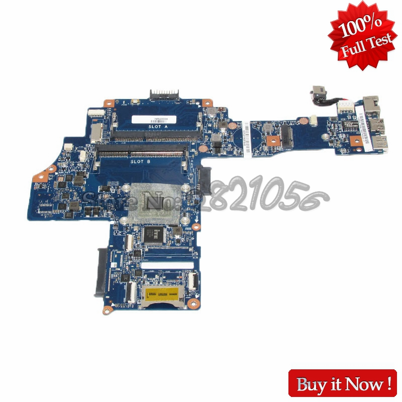 NOKOTION H000078250 PC Main Board For Toshiba Satellite C40-B CA10BM Laptop Motherboard EM6010 CPU DDR3 nokotion genuine h000064160 main board for toshiba satellite nb15 nb15t laptop motherboard n2810 cpu ddr3
