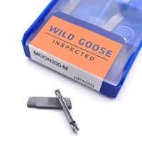 MGGN200-M HP1020 Inserto in metallo duro utensile di tornitura scanalatura tornio taglierina di CNC per l'acciaio e acciaio inox