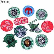 Prajna DIY Star Wars Patches Iron On For Clothing Embroidered Clothes Applique Badges Accessories
