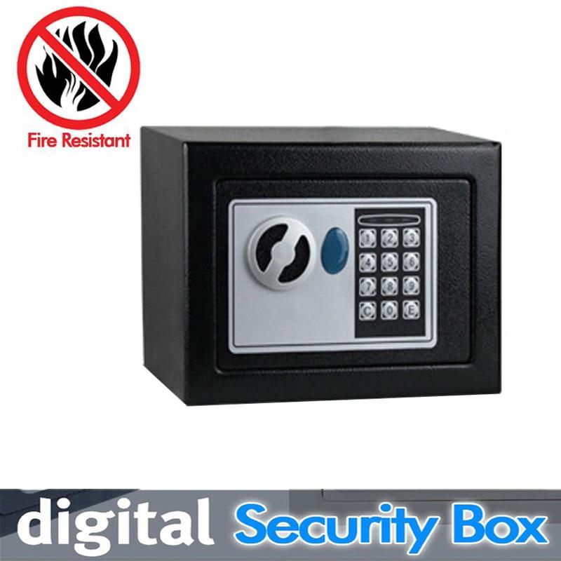 Цифровые сейфы электронные секрет идеально подходит для Офис Hotle замок безопасности денег ювелирные изделия или документов ключ Wall Safe Касс... ...