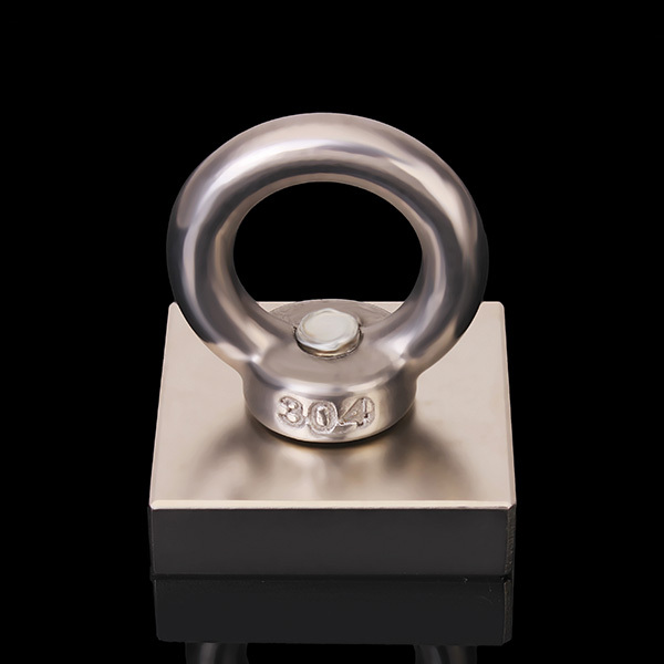 2015 New Sale Atacado Iman Iman Neodimio N35 40x40x44.5mm Eyebolt Ring Magnet Salvage Tool magnets iman neodimio 2015 promotion new aimant neodymium 2 pcs lot strong magnet 20x5mm eyebolt ring salvage magnetic