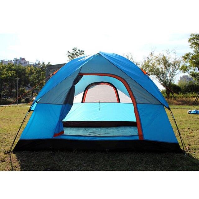 אוהל 4 אנשים 200X200 לנסיעות וקמפינג 4