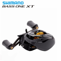 Original Shimano BASS ONE XT 150 151 Right Left Baitcasting Fishing Reel 7.2:1/4+1BB 5kg SVS Syetem Fishing Reel Moulinet Peche