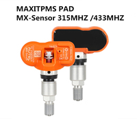 Autel MX Sensor 433mhz 315MHZ Universal Programmable TPMS Sensor MAXITPMS PAD For Tire Pressure Sensor Replacement