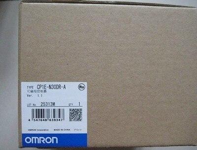 New or Used Original CP1E N30DR A CP1E PLC CPU for Omron Sysmac 30 I O