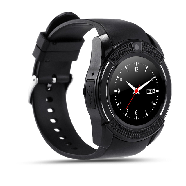 Smart Watch Clock With Sim TF Card Slot Bluetooth Connectivity for Apple iPhone Android Phone Smartwatch Watch