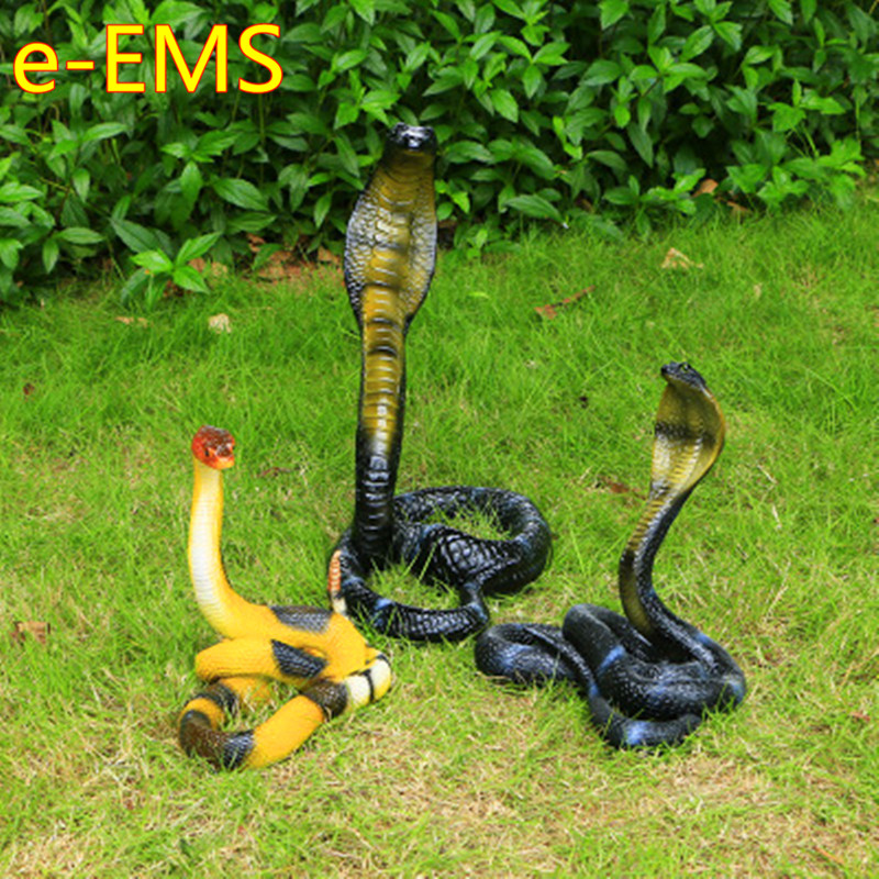 Outdoor-Ornaments Cobra Snake Landscape-Statue Simulation-Animal Cauliflower Creative