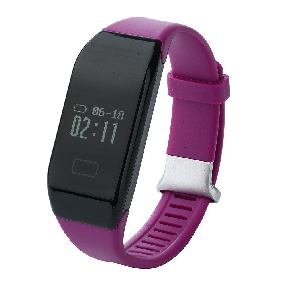 H3 Smartband Heart Rate Monitore Smart Wristband Health Wrist Watch Call Alarm V