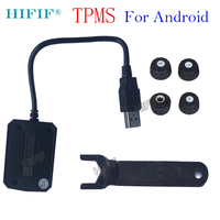 For Android USB TPMS Car Tire Pressure Monitoring System Car Tire Diagnostic tool with Mini External Sensor