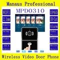 The Latest WIFI Magnetic Lock IP65 Rainproof Video Door Phone Outdoor Monitor Intercom Doorbell with 720P IP Camera ATZ-DBV04P