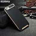 Romiky plástico armadura silicone case para apple iphone 7 plus 6 s 5S 5 SE 4S 4 6 MAIS SE a proteção integral à prova de choque TPU capa bags