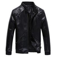 2019 3 color Men's New style winter coat male Genuine leather jacket motorcycle fur coats jacket men Large size M 5XL