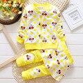 Otoño primavera encantadora Minnie Niños Ropa de bebé ropa de Las Muchachas Fijaron chica de La Muchacha Toddle Trajes Coat + Falda pantalones Ropa de bebé 2 unids