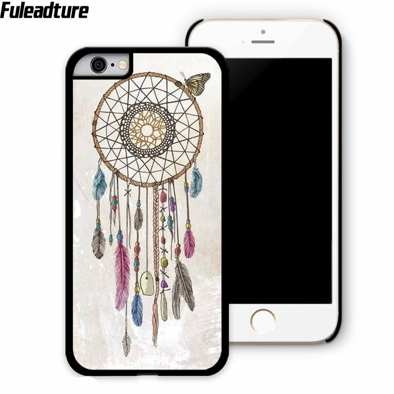 Dream Catcher Wind Chime Feather cell phone case shell for xiaomi mi4 mi5 max 4i 4c note 2 3 redmi note 2 3 phone accessories