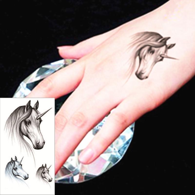 Us 046 17 Offshnapign 25 Stijl Tijdelijke Tattoo Body Art Teach Paard Ontwerpen Flash Tattoo Sticker Houden 3 5 Dagen Waterdicht 2115 Cm In