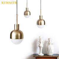 Loft Industrial Pendant Light Modern Gold Metal Hanging Lamp Light  Dining Living Room Lustre Bedroom Suspension Luminaire LED
