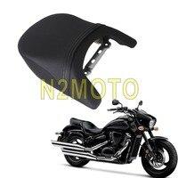 For Suzuki Boulevard M109R 2006 2012 LT/VZR 1800 Intruder 2017 2018 Rear Passenger Seat Black Cushion Backrest
