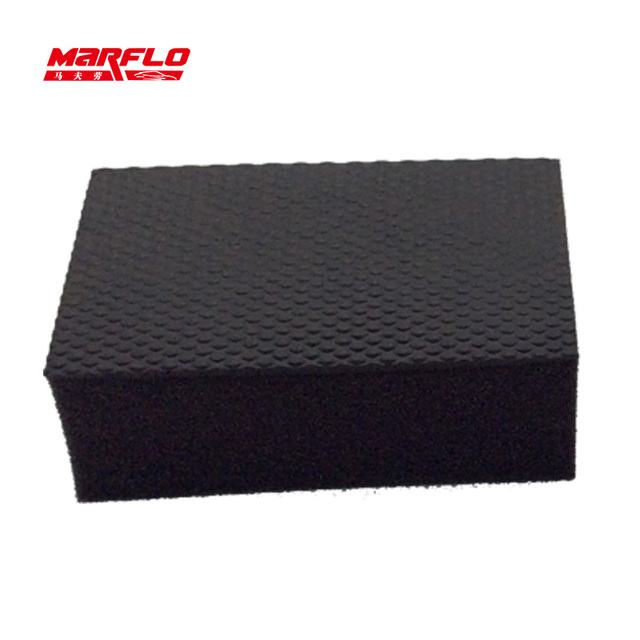 Car Wash Cleaning Magic Clay Bar Pad Block Mitt New Sponges Car Wash Sponge Auto Detailing  MARFLO by Brilliatech