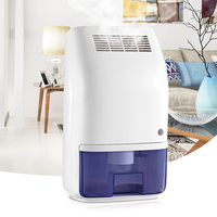 Invitop T8 700ml Home Air Dehumidifier Semiconductor Desiccant Moisture Absorber Car Mini Air Dryer Electric Cooling