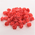 Wholesale 50pcs/bag Artificial Wedding Rose Flower Head Handmade DIY Wedding Home Decoration Multi-use PE Foam Rose