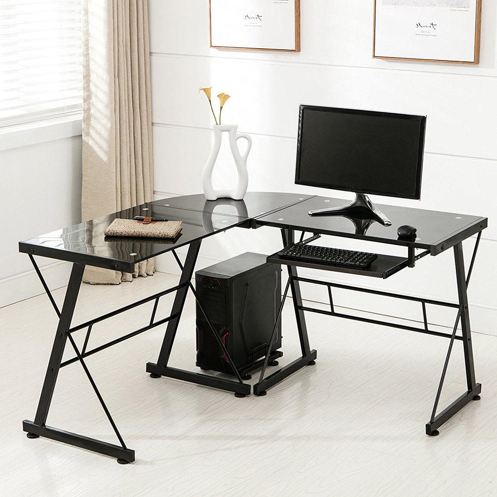 l-shape corner computer desk
