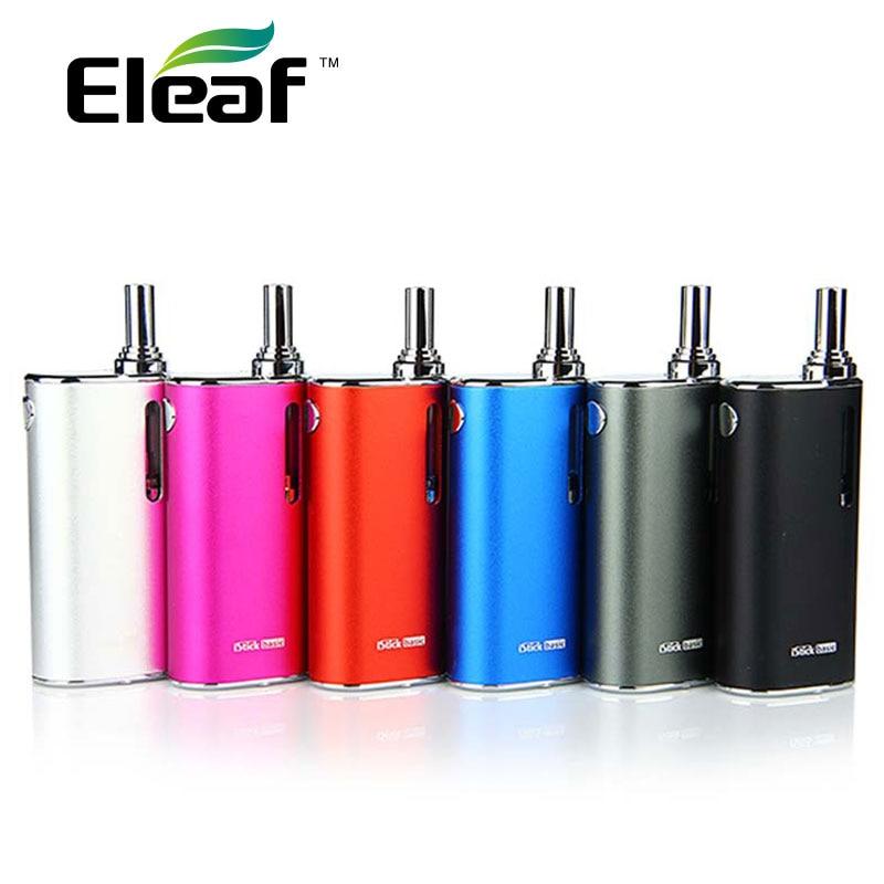100% Original Eleaf iStick Basic Starter Kit con ml 2 ml GS-AIR 2 tanque e-cigarette y 2300 mAh batería incorporada Mod Vs iStick Pico 25