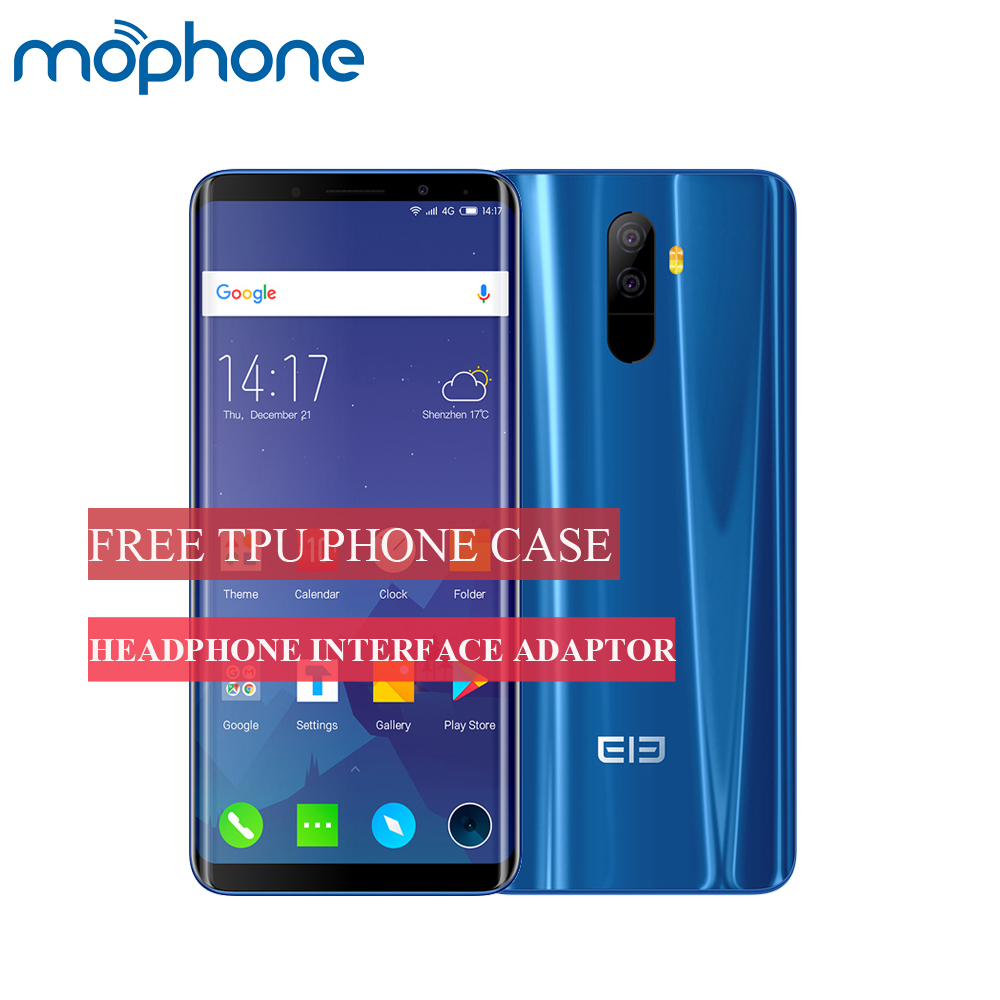 Reasonable Elephone U Face Id Mobile Phone 6+128gb Helio P23 Octacore 5.99inch Corning Gorilla Android 7.1 2*13mp Rear Cameras Smartphone Complete Range Of Articles