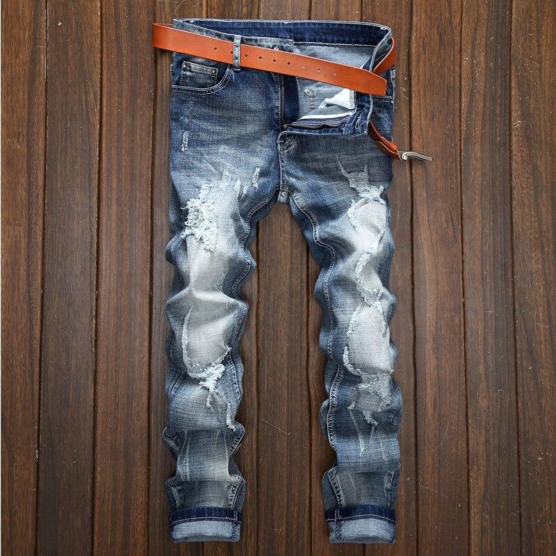 2016 designer jeans men high quality jeans male famous