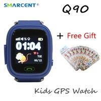 SMARCENT Original Q90 GPS Phone Positioning Kids Children Smart Watch Touch Screen WIFI SOS Smartwatch Baby