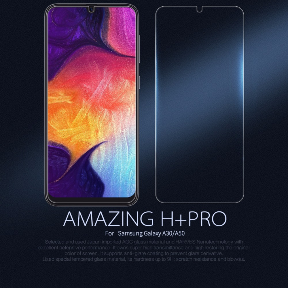 Glas für Samsung Galaxy A30/A50 Nillkin H + PRO 2.5D Screen Protector schutz sicherheit glas film für Samsung galaxy A30/A50