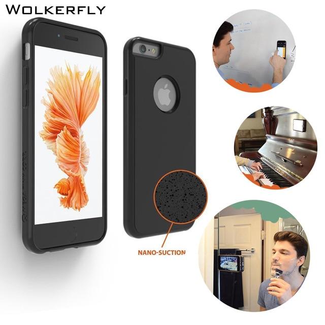 Nano Suction Magical Phone Case para iPhone 7Plus 5 5s SE 6 6s 6plus - Accesorios y repuestos para celulares
