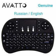 [AVATTO] Original Ruso Touchpad i8 Mini Teclado 2.4G Wireless Gaming Aire Ratón para PC/Smart TV/Android Box/Laptop/Xbox 360