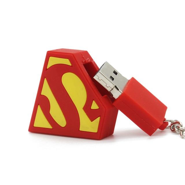 Superman batman captain america pendrive USB stick flash drive