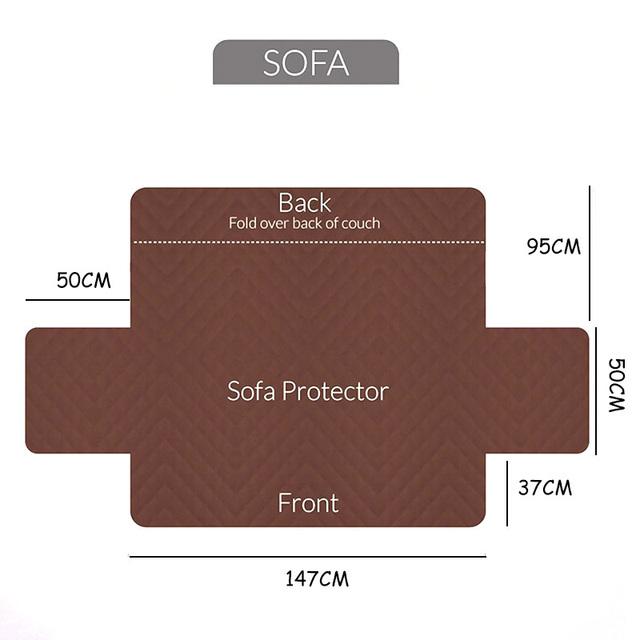Sofa Reversible Slipcover Furniture Protector