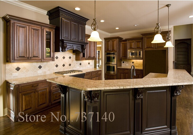 American Kitchen Solid Wood Kitchen Cabinet One Stop Solution For Your Home  Decoration Professional Furniture Buying