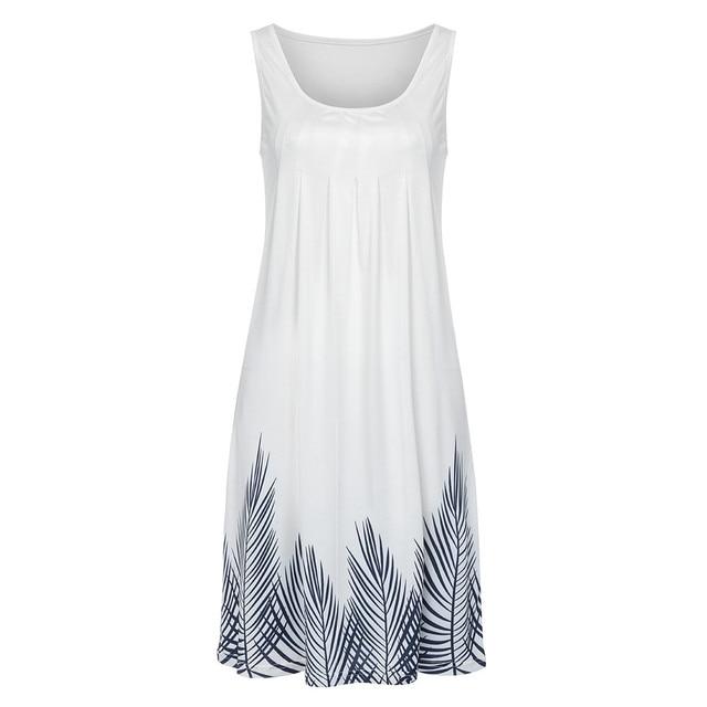 Sleeveless Dress Print...