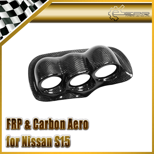 Car Styling Carbon Fiber Dash Mount Triple Gauge Pod 60mm RHD Fit For Nissan  S15 Uras Type In Stock In Gear Shift Collars From Automobiles U0026 Motorcycles  On ...