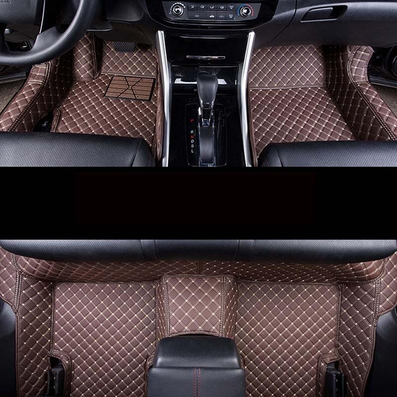 Auto car carpet foot floor mats For volkswangen polo sedan touran 2005 vw passat b5 golf 6 sharan car mats цена 2017