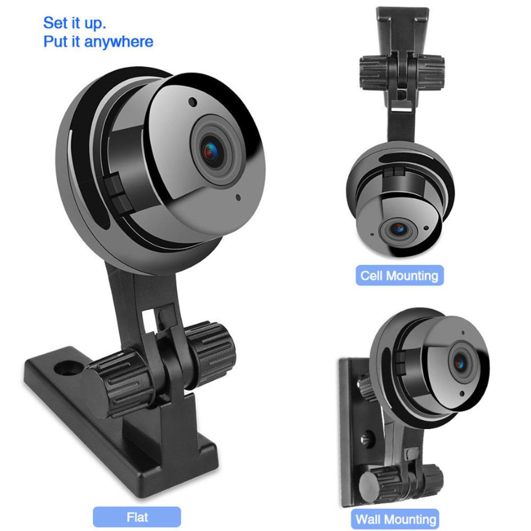Mayitr 1pc Mini Full HD 1080P Camera E06-2 Professional Wireless Wifi Home Security IP Camera Monitor Night Vision Camcorders