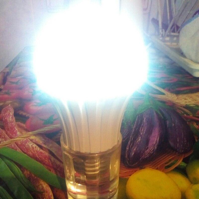 Led emergency light bulb magic light on the water 5W/7W/9W/12W/15W/18W intelligent emergency bulb charge water to light bulbs