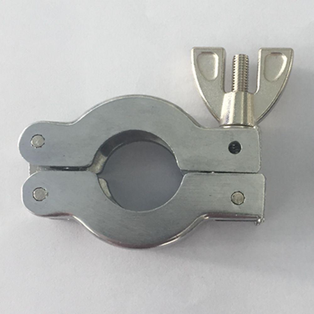 5 Lots Aluminum Vacuum Pump Flange Fitting Accessories Clamp KF10 KF16