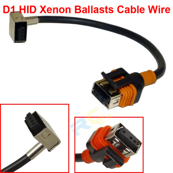 2PCS D1 D1S D1R D1C OEM HID Xenon Headlight Bulbs Lamps Ballasts Wire Harness Cable Adapter Holder Wiring Socket Plug N Play image