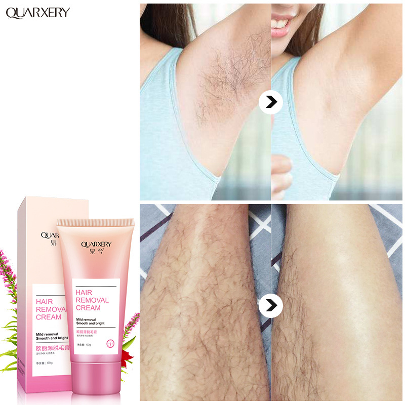 Quarxery Hair Removal Cream Men And Women Hand Leg Hair Loss