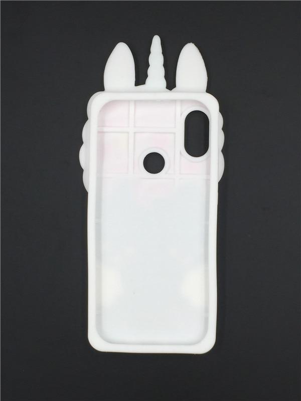 save off 31398 7dd7c For Xiaomi Redmi Note 5 Pro 3D Silicon Cat Cartoon Ice Cream Unicorn Soft  Phone Back Case Cover For Xiaomi MI 6X MI6X 5.99