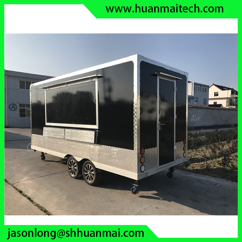 Food Truck Concession Trailer Mobile Kitchen Catering Trailer Karachi