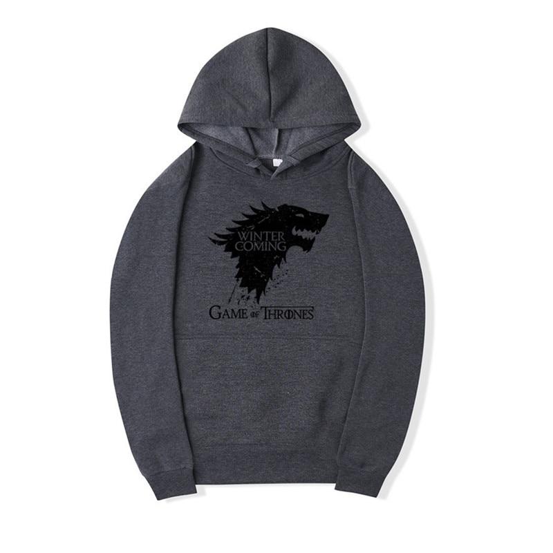 US $16.32  BDLJ Top qualität baumwollmischung game of thrones hoodies Mann lässige hip hop Modeverbrechen Mann Hoodie winter kommt sweatshirt mit in