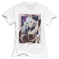 Gildan Women Brigitte Bardot The Life And The Movies Round Neck Girl Woman T Shirt O