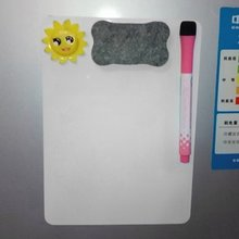 Купить с кэшбэком Whiteboard Writing board magnetic writing board fridge writing board Removable Whiteboard Home Decoration message board/Memo Pad
