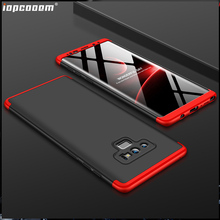 360 Full Protection Case For Samsung Galaxy Note9 Luxury Hard Shockproof Back Cover cases
