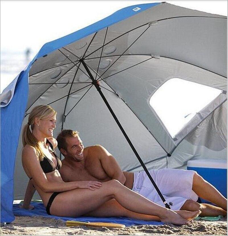 Per Il Tempo Libero all'aperto Pieghevole Della Spiaggia Anti Uv Ombrello-in Ombrelli da Casa e giardino su  Gruppo 3